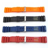 Divers Watch Strap ND Limits Rubber Diving / Sports - Four Colours